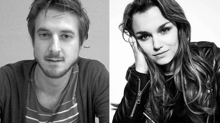 Arthur Darvill and Samantha Barks