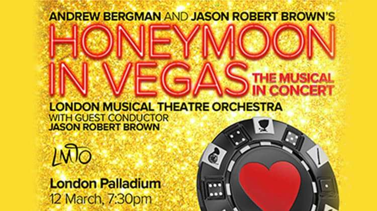 artwork Honeymoon in Vegas at London Palladium
