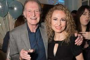 David Bradley & Barbara Drennan at Gala Performance of Beautiful - The Carole King Musical, Aldwych Theatre, London, 2017