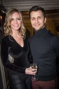 Rachel Riley & Pasha Kovalev at Gala Performance of Beautiful - The Carole King Musical, Aldwych Theatre, London, 2017