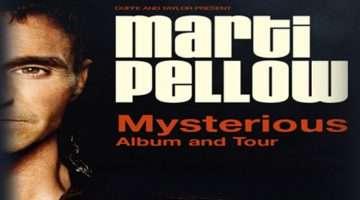 artwork Marti Pellow Mysterious Album and Tour - London Palladium