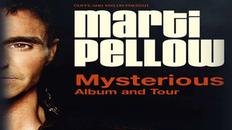 artwork Marti Pellow Mysterious Album and Tour - London Palladium