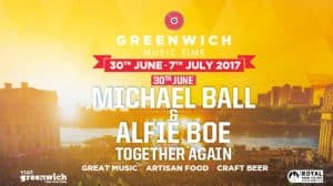 Greenwich Music Time festival with Michael Ball & Alfie Boe