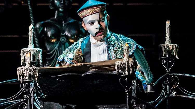 Ben Forster as The Phantom | Ben Forster extends his run in Phantom of the Opera