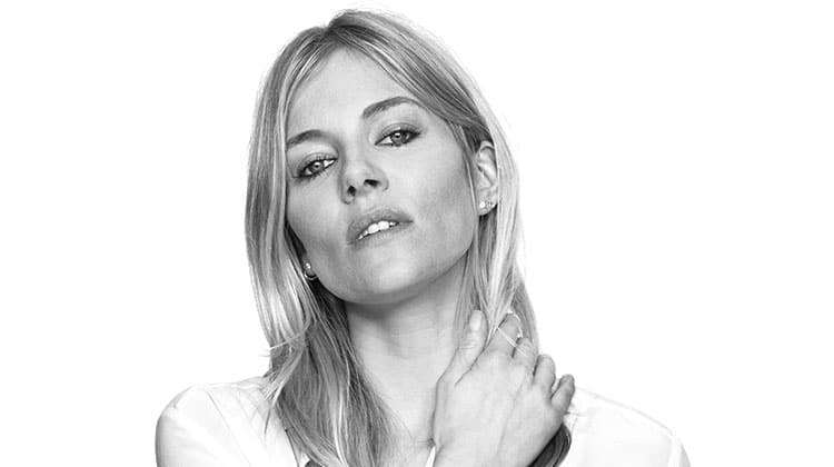 Sienna Miller pr shot for Cat On A Hot Tin Roof, London