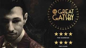 Artwork for The Great Gatsby immersive theatre experience, London 2017