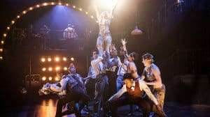 Production images for The Wild Party at The Other Palace Theatre, London