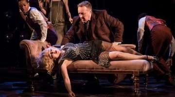 Frances Ruffelle & John Owen-Jones in The Wild Party, The Other Palace Theatre, London