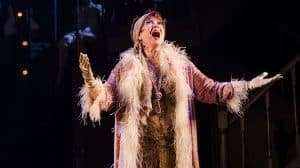 Donna McKechnie in The Wild Party, The Other Palace Theatre, London