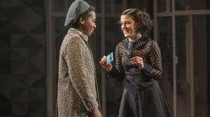 Tamara Lawrance & Phoebe Fox in Twelfth Night at the National Theatre, Directed by Simon Godwin. 2017
