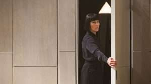 Tamsin Greig playing Malvolia in Twelfth Night at the National Theatre, Directed by Simon Godwin.