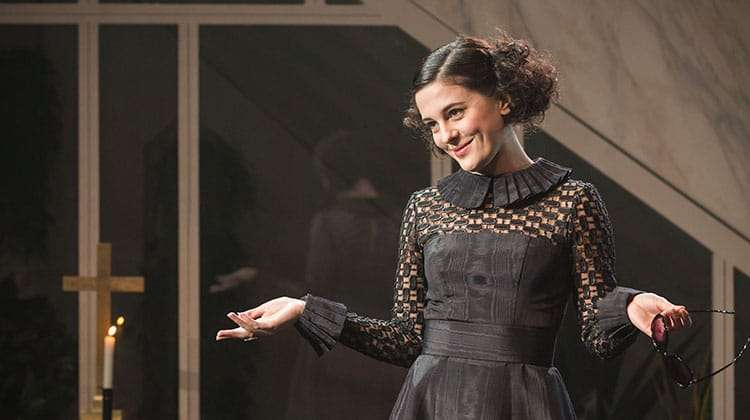 Phoebe Fox in Twelfth Night at the National Theatre, Directed by Simon Godwin.