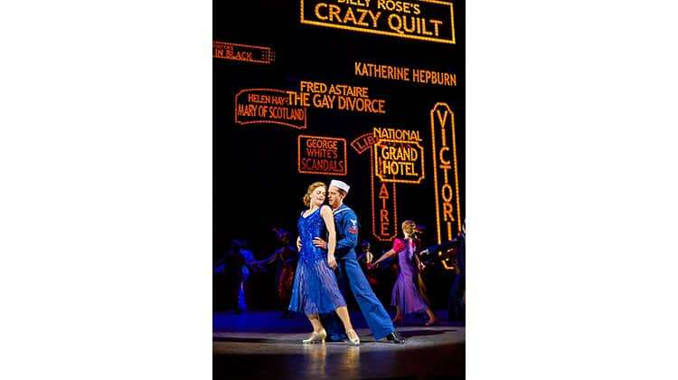 Clare Halse & Stuart Neal in 42nd Street, Theatre Royal Drury Lane, London 2017