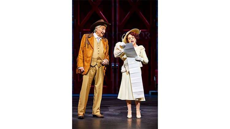 Bruce Montague & Sheena Easton in 42nd Street, Theatre Royal Drury Lane, London 2017