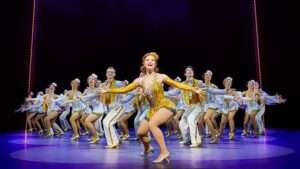 Clare Halse & company in 42nd Street, Theatre Royal Drury Lane, London 2017