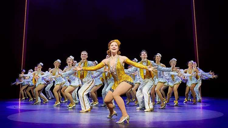 42nd Street - Clare Halse & company  - cBrinkhoff & Moegenburg | Broadway musical 42nd Street at Theatre Royal Drury Lane