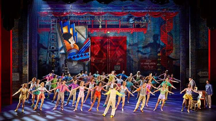 42nd Street production image, Theatre Royal Drury Lane, London 2017