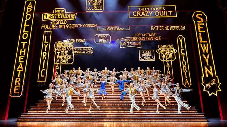 42nd Street - cBrinkhoff & Moegenburg | Broadway musical 42nd Street at Theatre Royal Drury Lane