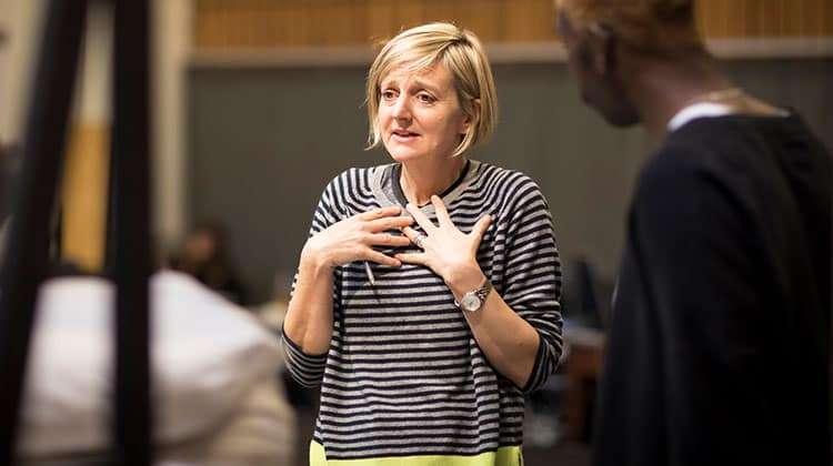 Marianne Elliott director of Angels in America (c) Helen Maybanks