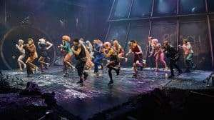 Production photo of Bat Out of Hell The Musical, UK production