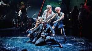 Patrick Sullivan in Bat Out of Hell The Musical. UK production