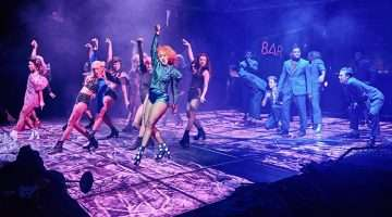 Danielle Steers in Bat Out of Hell The Musical. UK production