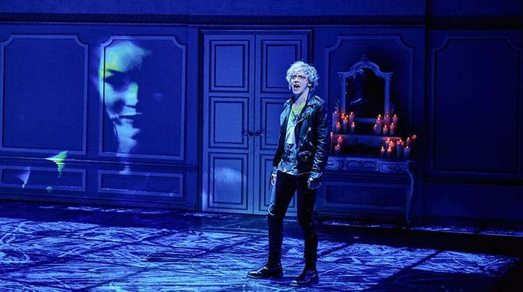 Andrew Polec stars in Bat Out of Hell The Musical