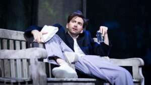 David Tennant in Don Juan in Soho. at Wyndham's Theatre, London
