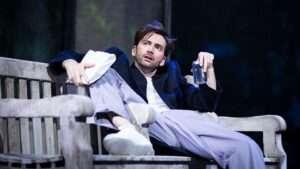 David Tennant in Don Juan in Soho. at Wyndham's Theatre, London