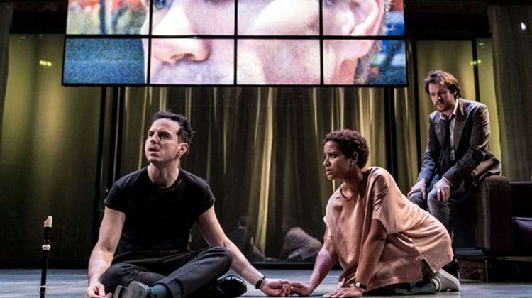 Andrew Scott in Hamlet, London