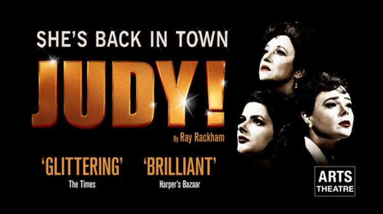 New show Judy! about Judy Garland at the Arts Theatre, London