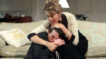 Love In Idleness starring Eve Best. Apollo Theatre, London