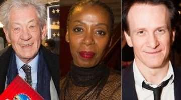Ian McKellen, Noma Dumezweni & Jamie Parker