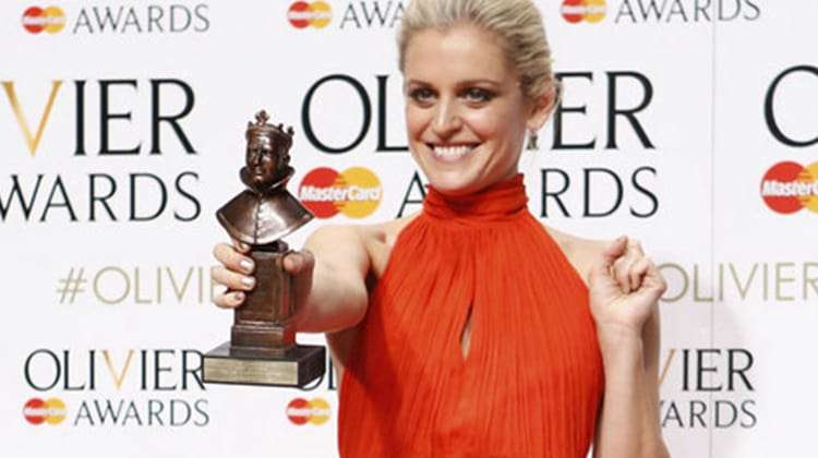 Denise Gough wins 2016 Olivier Award for Best Actress for People, Places & Things