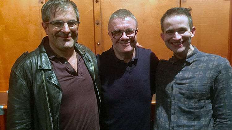 Nathan Lane attends opening night of The Frogs, Jermyn St Theatre, London