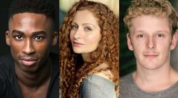 Jordan Shaw, Gillian Saker & Chris Jenkins cast in Tick Tick Boom at Park Theatre.
