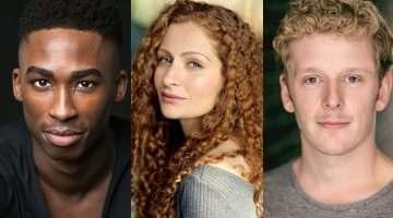 Jordan Shaw, Gillian Saker & Chris Jenkins cast in Tick Tick Boom at Park Theatre.