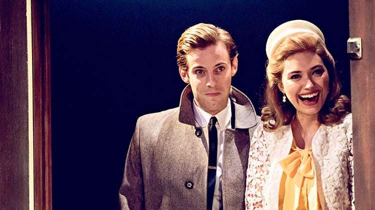 Luke Treadaway & Imogen Poots in Who's Afraid of Virginia Woolf? at Harold Pinter Theatre, London