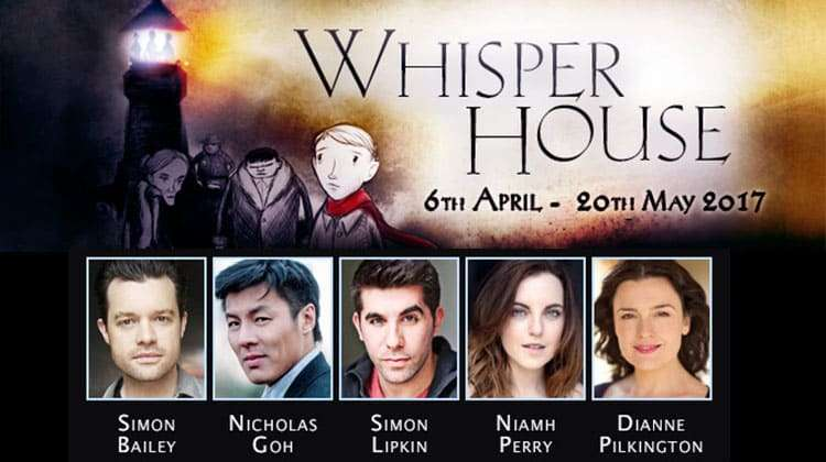 Star cast for Whisper House at The Other Palace