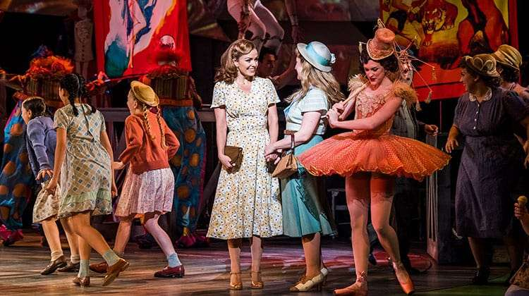 Katherine Jenkins & Alex Young in Carousel at the London Coliseum