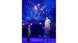 Alfie Boe & Nicholas Lyndhurst in Carousel at the London Coliseum
