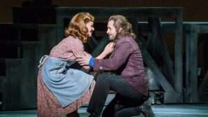 Alfie Boe & Katherine Jenkins in Carousel at London Coliseum
