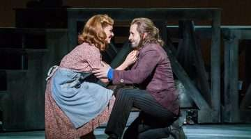 Alfie Boe & Katherine Jenkins in Carousel at London Coliseum