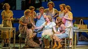 Alex Young & Katherine Jenkins in Carousel at the London Coliseum