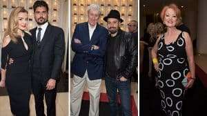 Katherine Jenkins, Nicholas Lyndhurst, Alfie Boe, Susan Kyd at the Opening night of Carousel at the London Coliseum