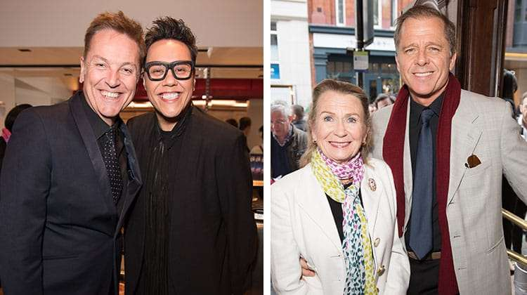Brian Connolly, Gok Wan, Hayley Mills & Maxwell Caulfield at the Opening night of Carousel at the London Coliseum
