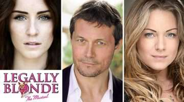 Lucie Jones, Bill Ward & Rita Simons star in Legally Blonde The Musical UK tour