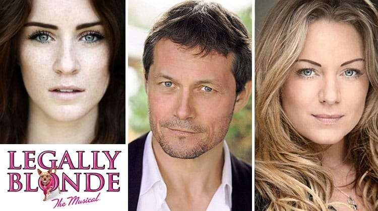 Lucie Jones, Bill Ward & Rita Simons star in Legally Blonde The Musical UK tour