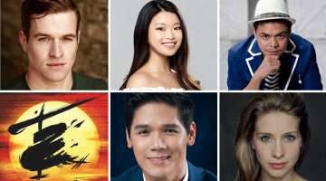 Miss Saigon UK Tour principal cast