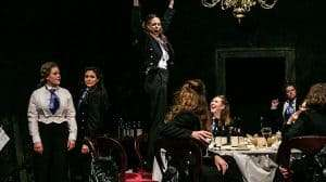 Cressida Carre's all-female production of Laura Wade's POSH